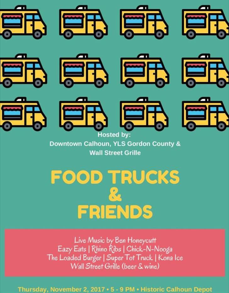 November Food Trucks & Friends