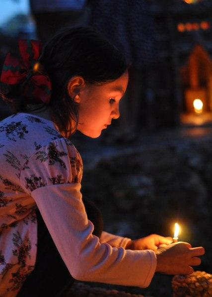 The Garden Lighting - girl