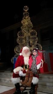 child with Santa - correct orientation