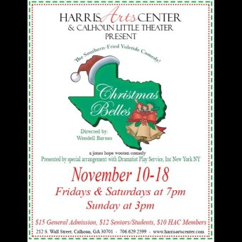 Christmas Belles flyer