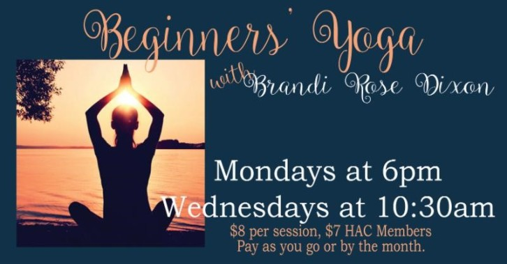 2018 Beginners Yoga at HAC