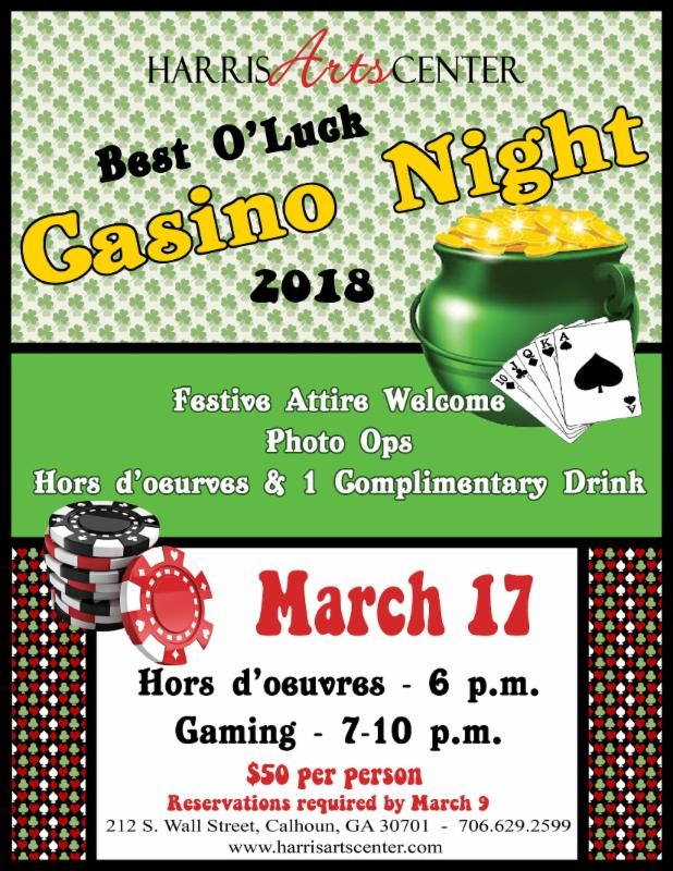 HAC Best O' Luck Casino Night