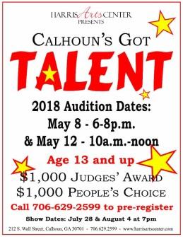 Calhoun's Got Talent