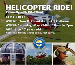 Free helicopter rides