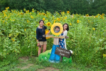 2017 Copper Creek Farm Sunflower Festival_Credit Brent Templeton